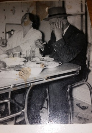 marvin's grandparents at the table